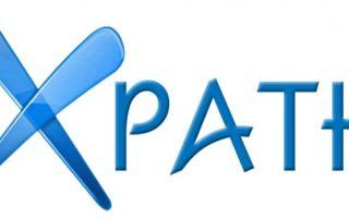 xPath запросы которые использую