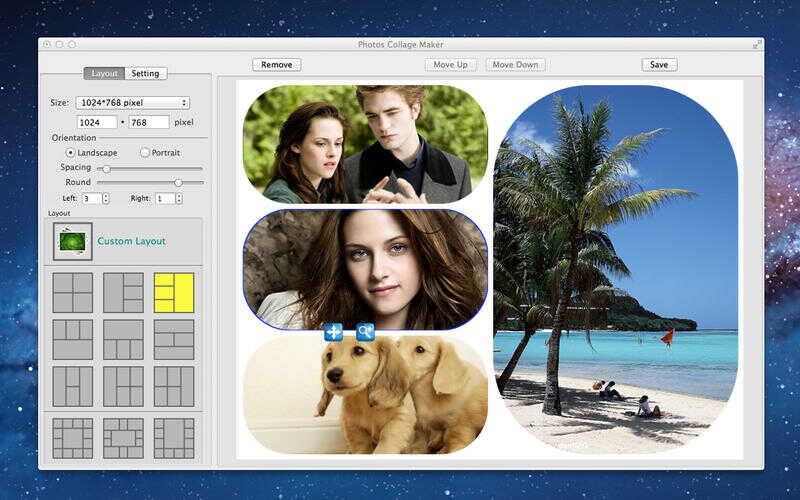 Fotor collage maker коллаж